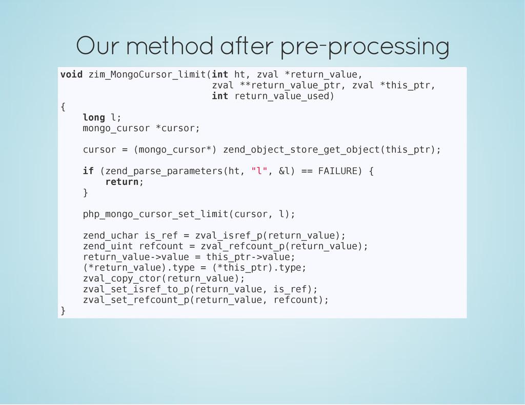 Our method after pre-processing v o i d z i m _...