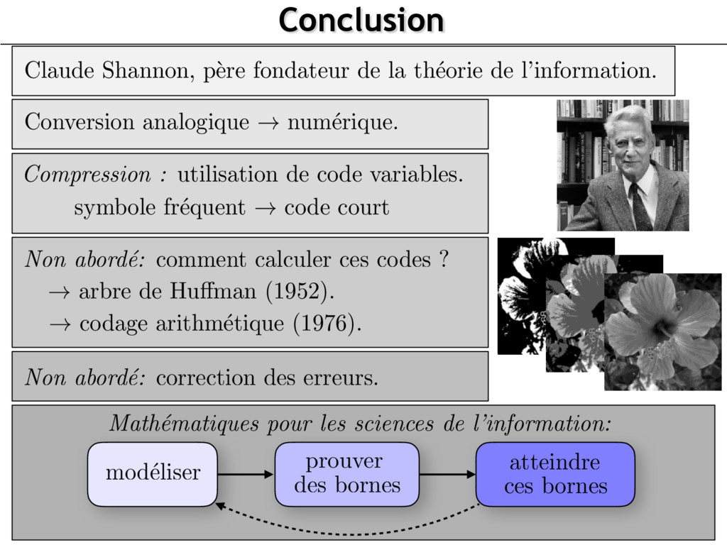 Math´ ematiques pour les sciences de l'informat...