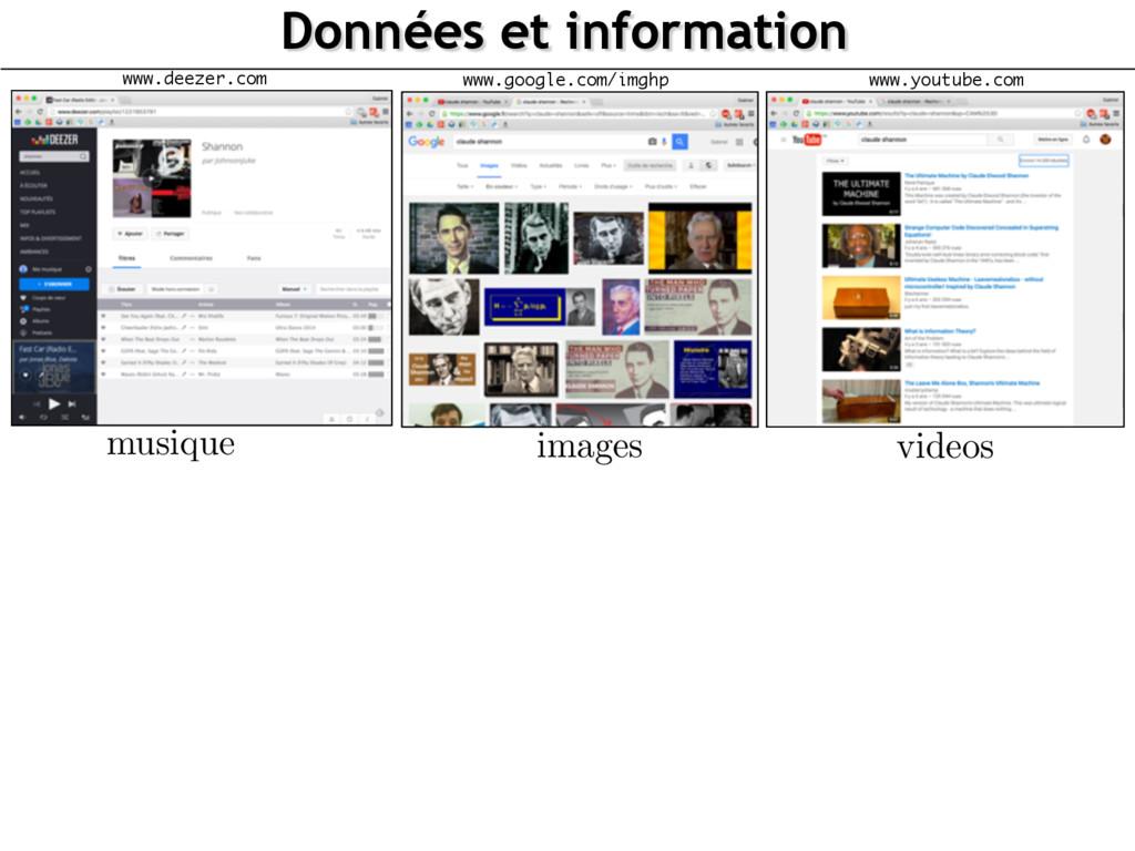 Données et information www.google.com/imghp ima...