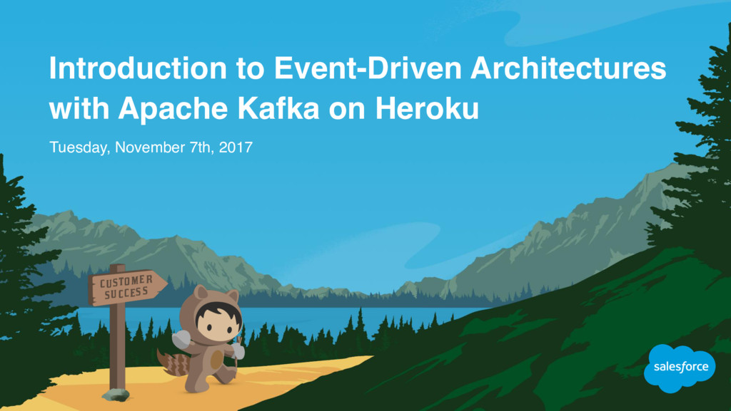 Introduction to Event-Driven Architectures with...