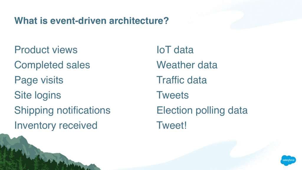 What is event-driven architecture? Product view...
