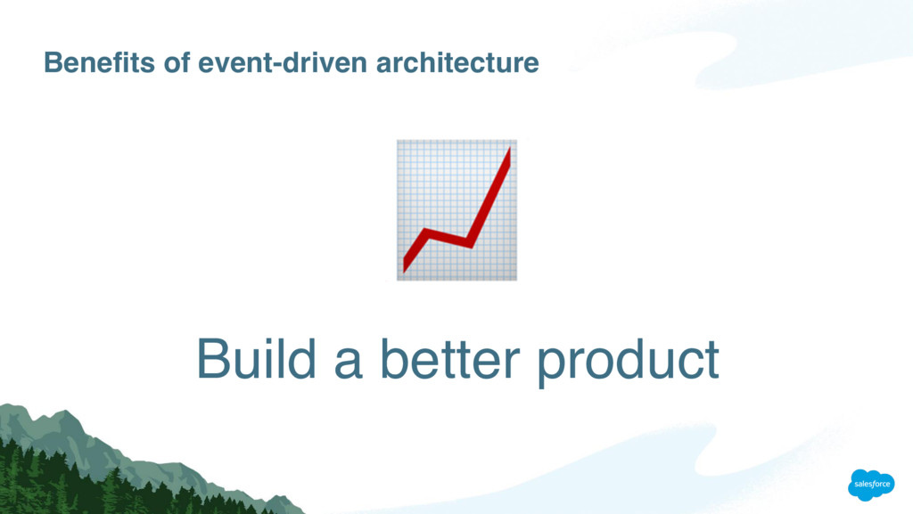 Benefits of event-driven architecture Build a b...