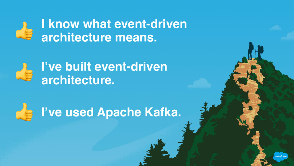 I know what event-driven architecture means. I'...