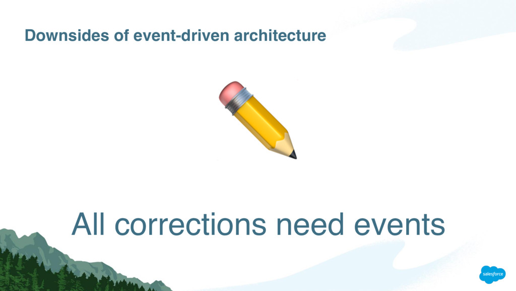 Downsides of event-driven architecture All corr...