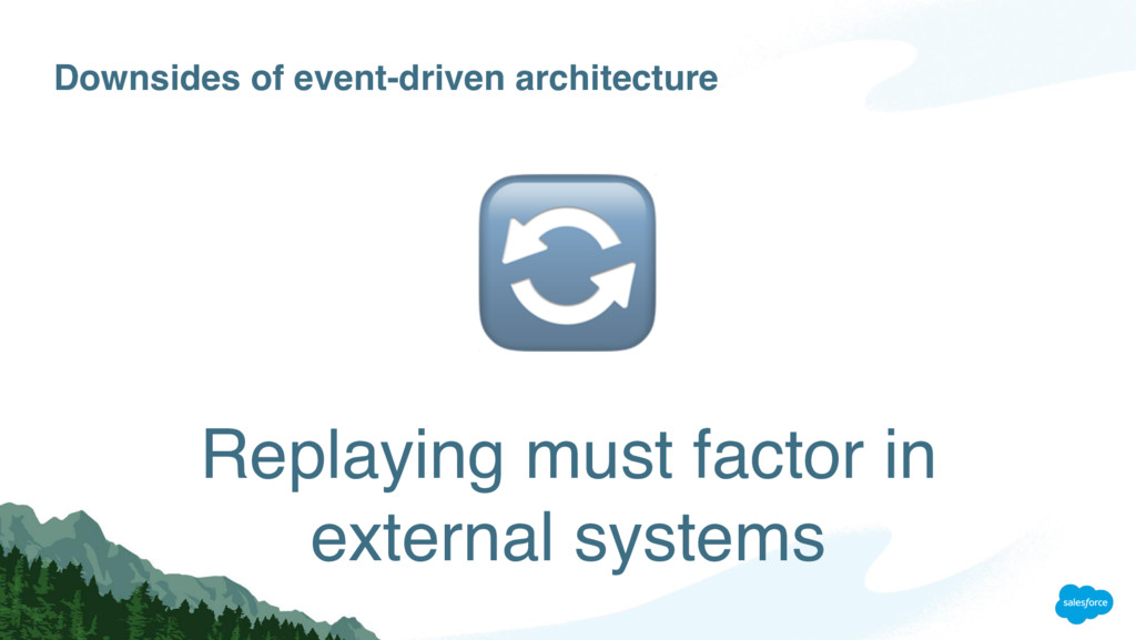 Downsides of event-driven architecture Replayi...