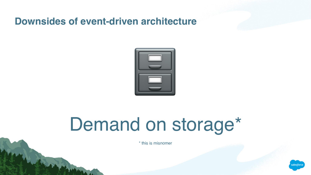 Downsides of event-driven architecture Demand o...