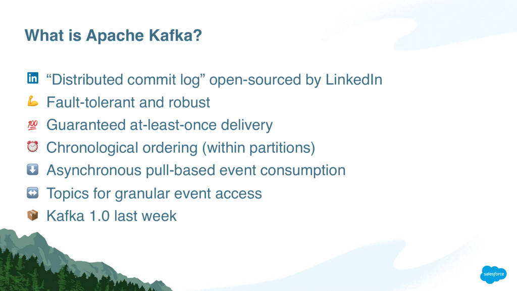 """What is Apache Kafka? """"Distributed commit log"""" ..."""