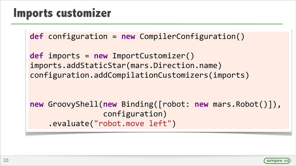 Imports customizer 33 def	
