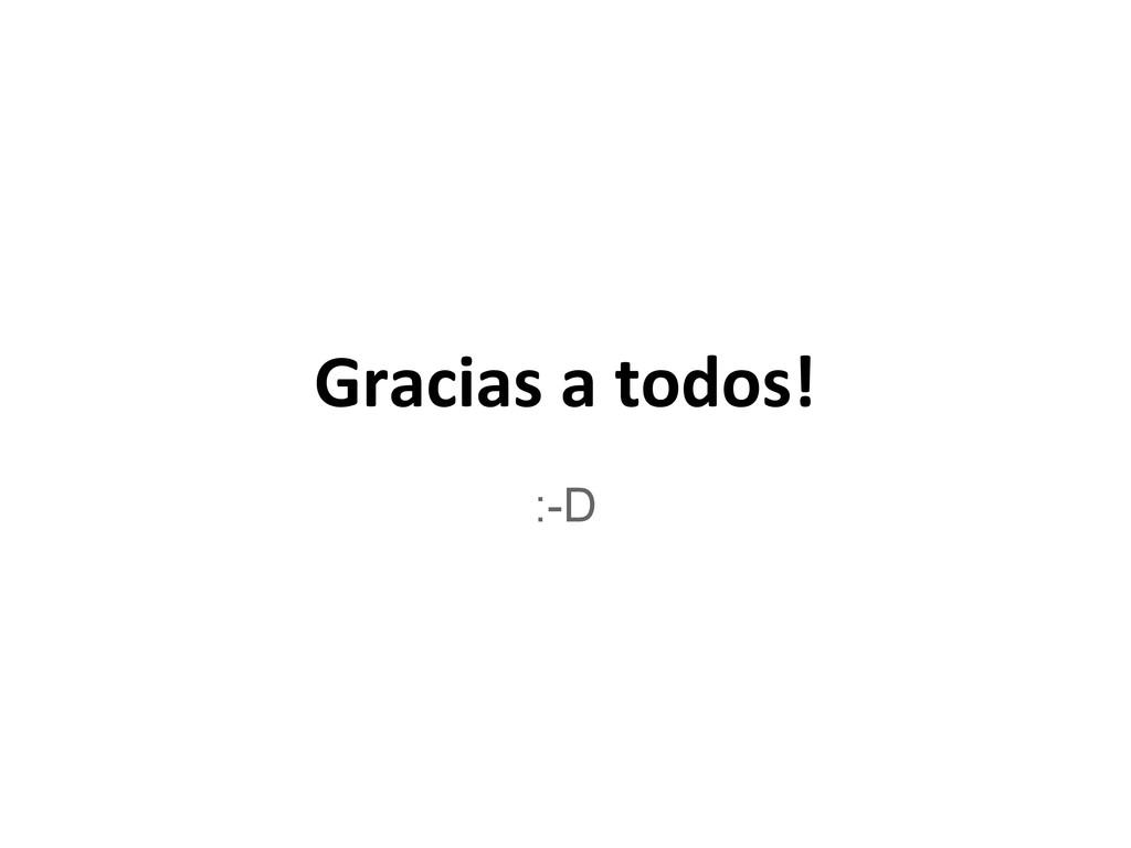 Gracias a todos! :-D