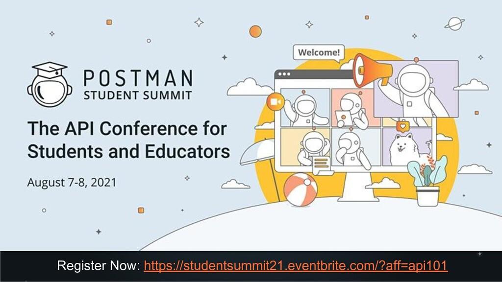 Register Now: https://studentsummit21.eventbrit...