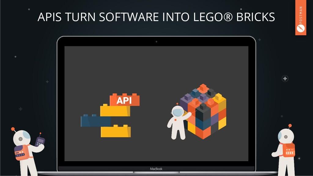 APIS TURN SOFTWARE INTO LEGO® BRICKS
