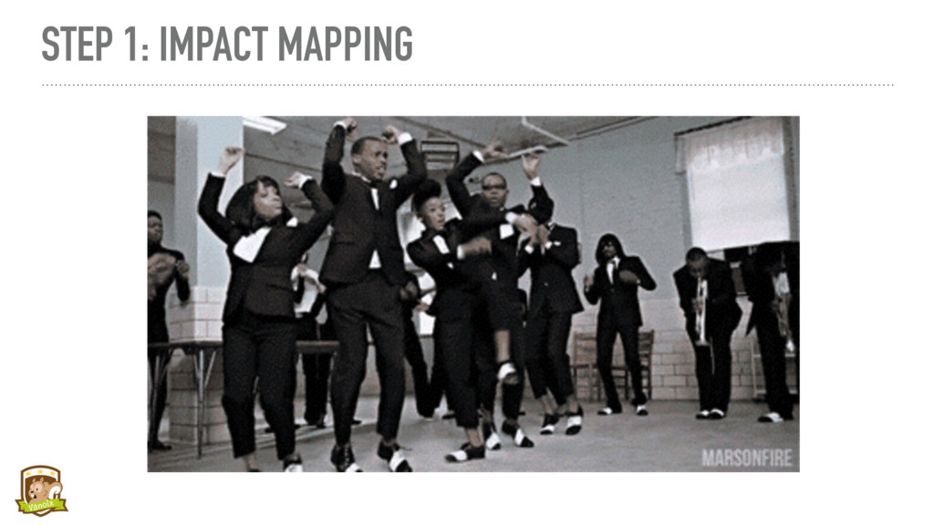 STEP 1: IMPACT MAPPING