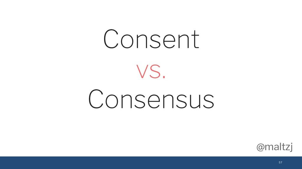 @maltzj 57 Consent vs. Consensus