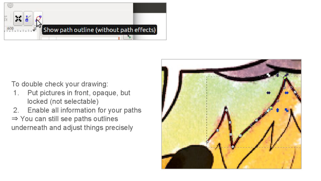 To double check your drawing: 1. Put pictures i...