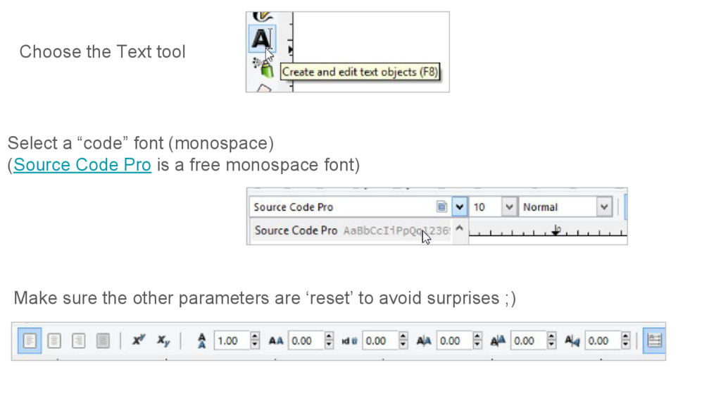 Make sure the other parameters are 'reset' to a...