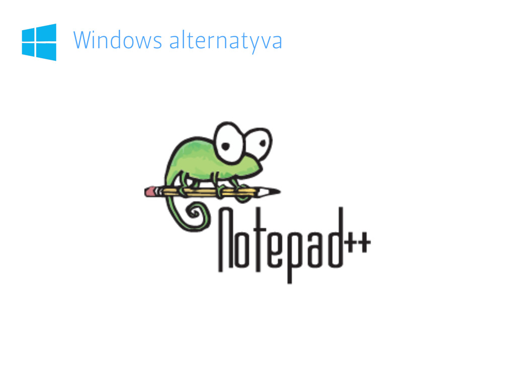 Windows alternatyva