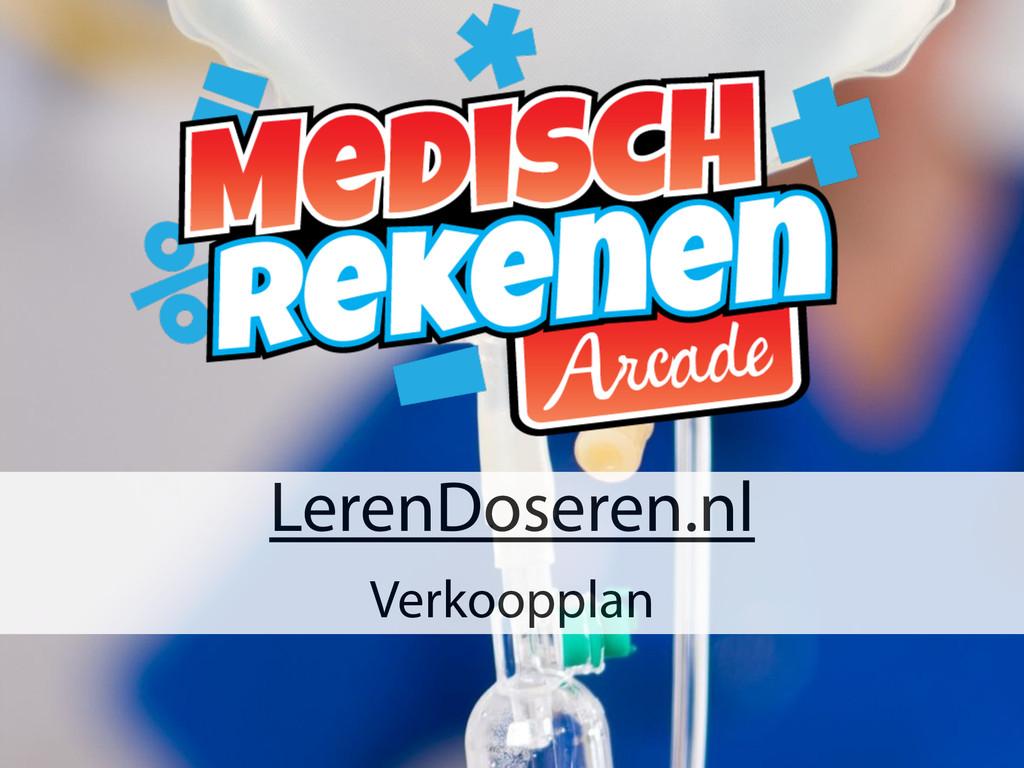 LerenDoseren.nl Verkoopplan