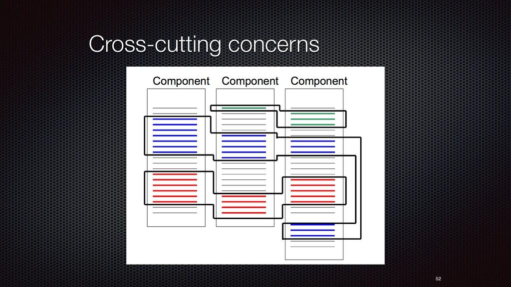 Cross-cutting concerns 52