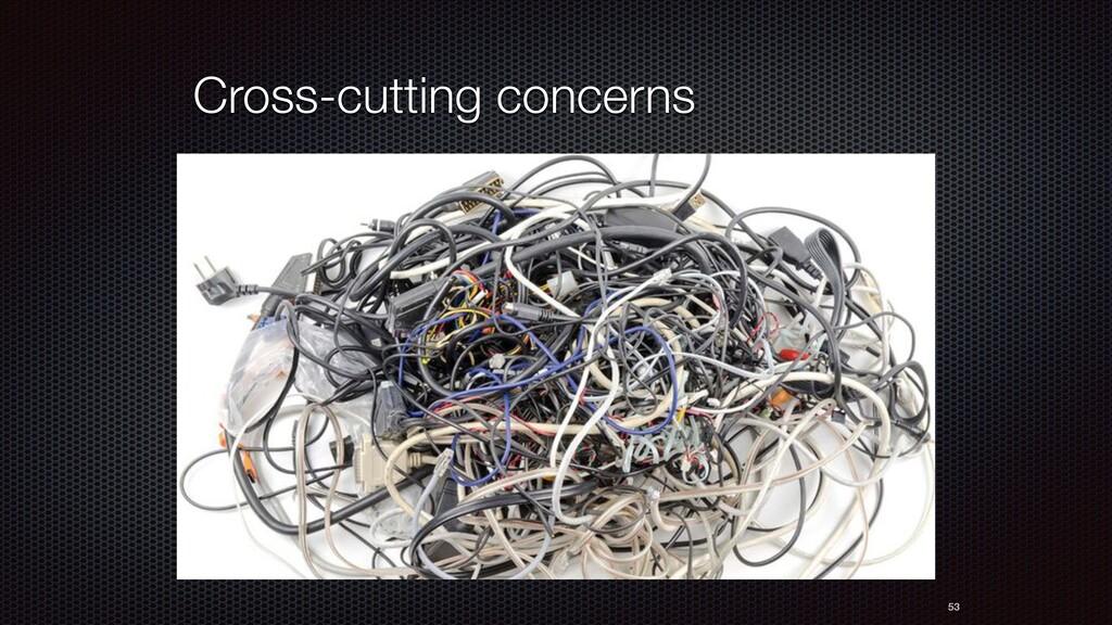53 Cross-cutting concerns