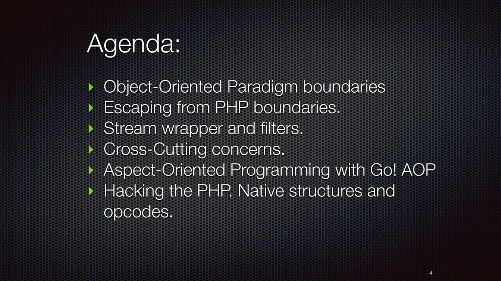 Agenda: ‣ Object-Oriented Paradigm boundaries ‣...