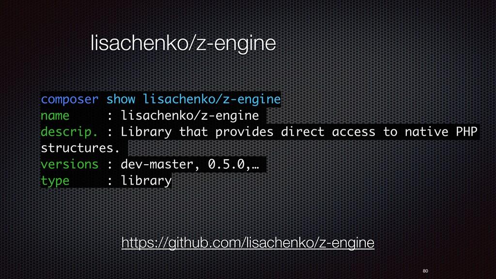 80 lisachenko/z-engine composer show lisachenko...