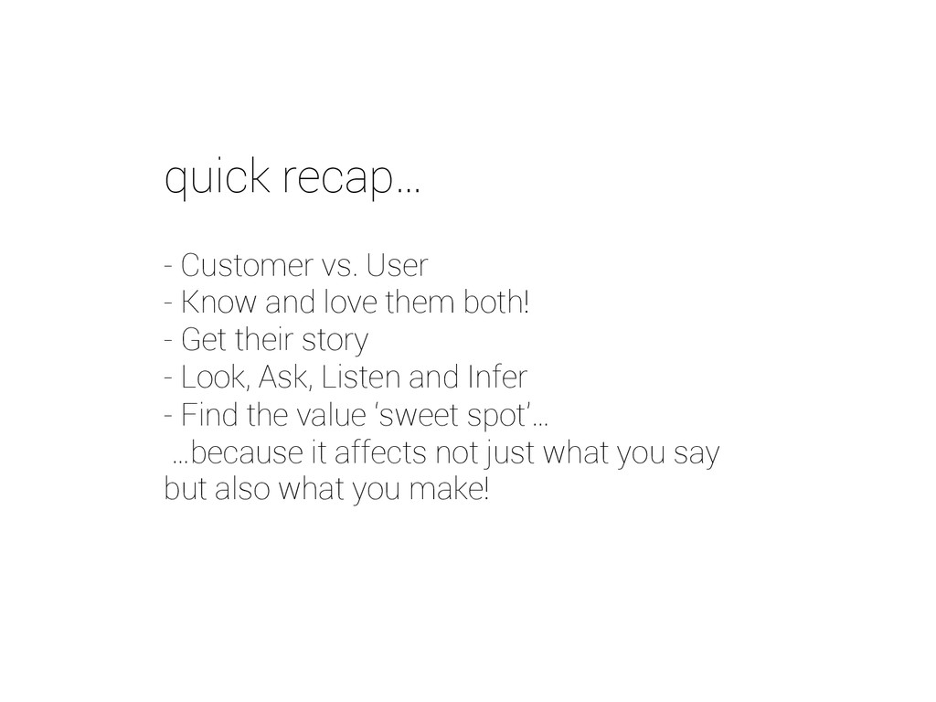 - Customer vs. User - Know and love them both! ...