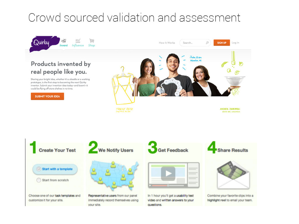 Crowd sourced validation and assessment