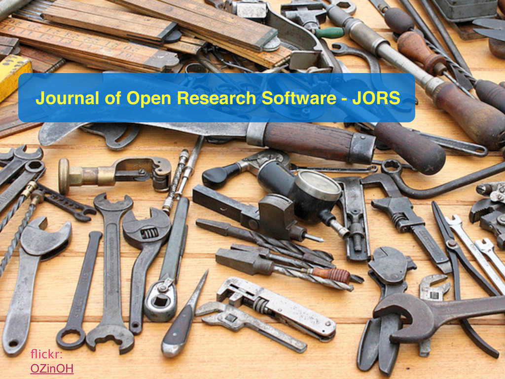 flickr: OZinOH Journal of Open Research Software...