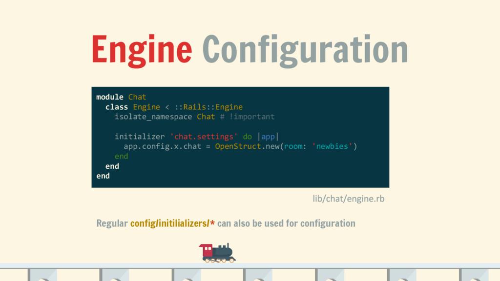 Engine Configuration module Chat class Engine <...