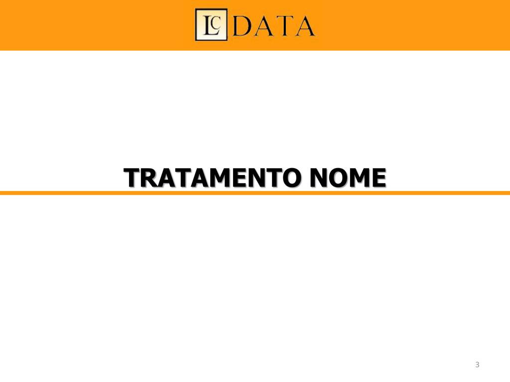 TRATAMENTO NOME 3