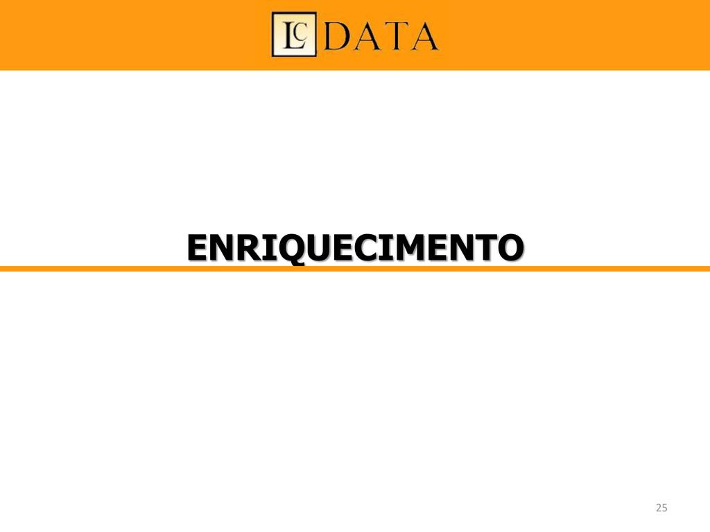 ENRIQUECIMENTO 25