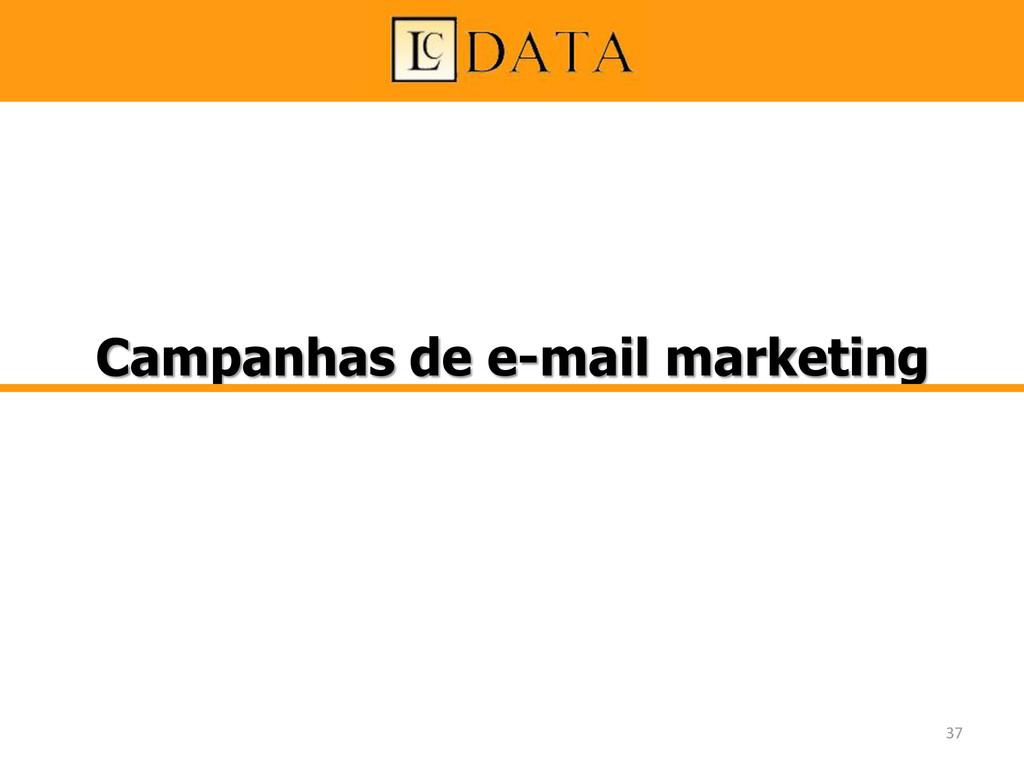 Campanhas de e-mail marketing 37