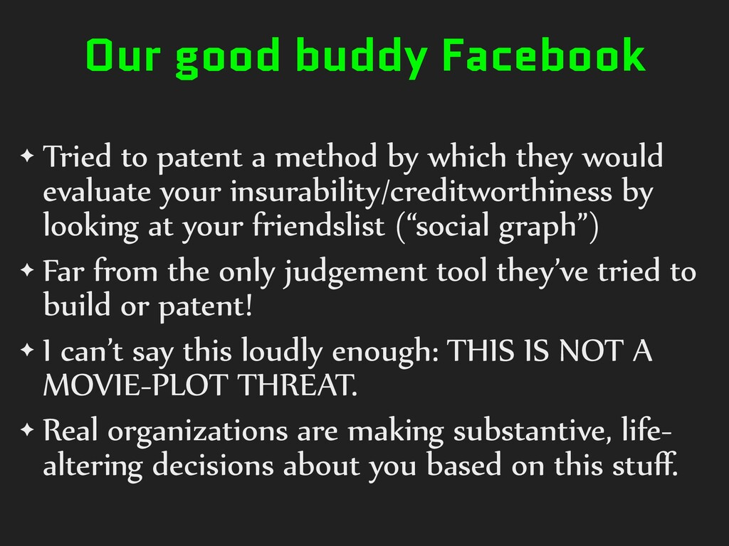 Our good buddy Facebook ✦ Tried)to)patent)a)met...