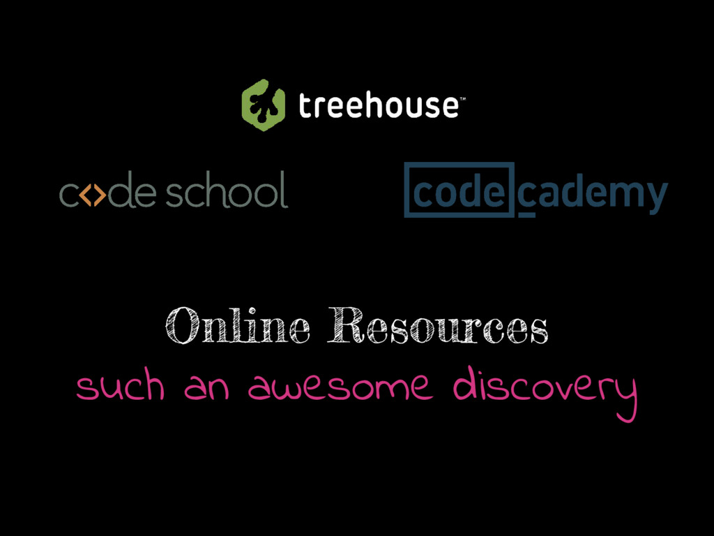 Online Resources such an awesome discovery