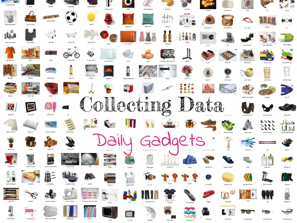 Collecting Data Daily Gadgets