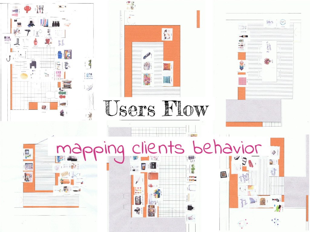 Users Flow mapping clients behavior