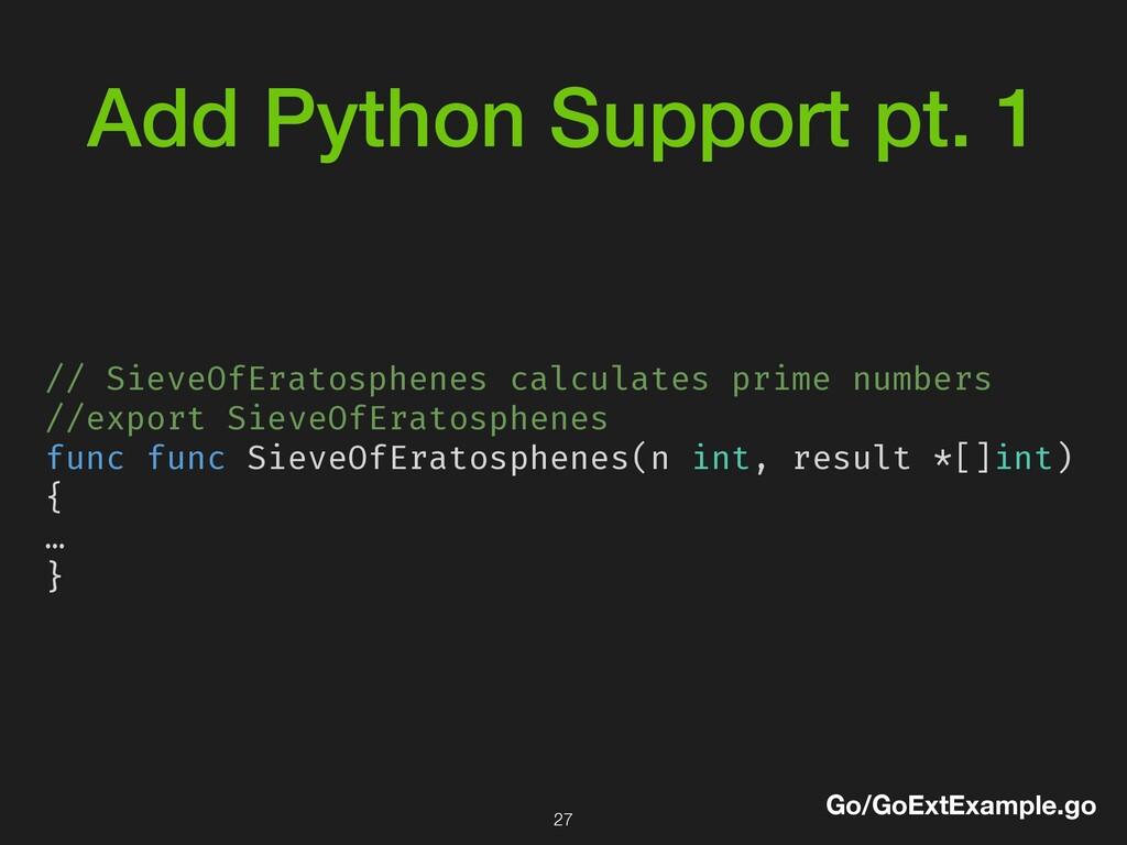 Add Python Support pt. 1 // SieveOfEratosphenes...