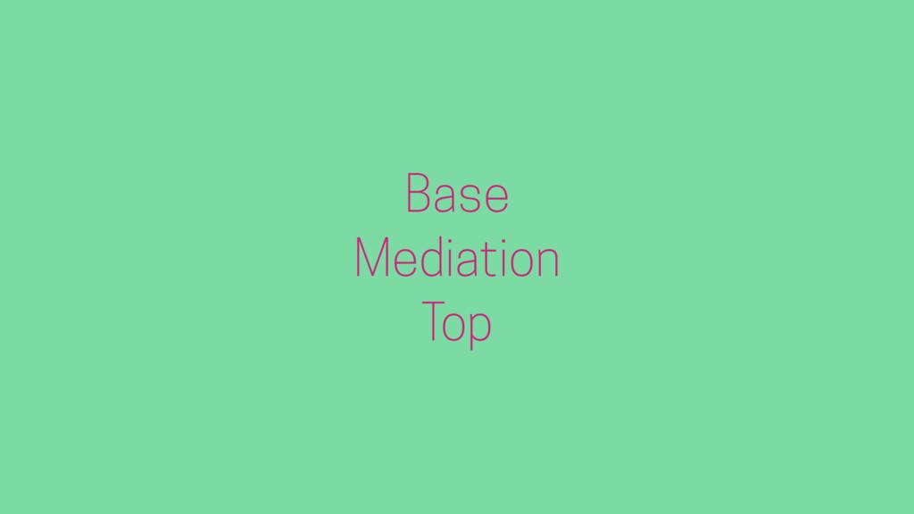Base Mediation Top