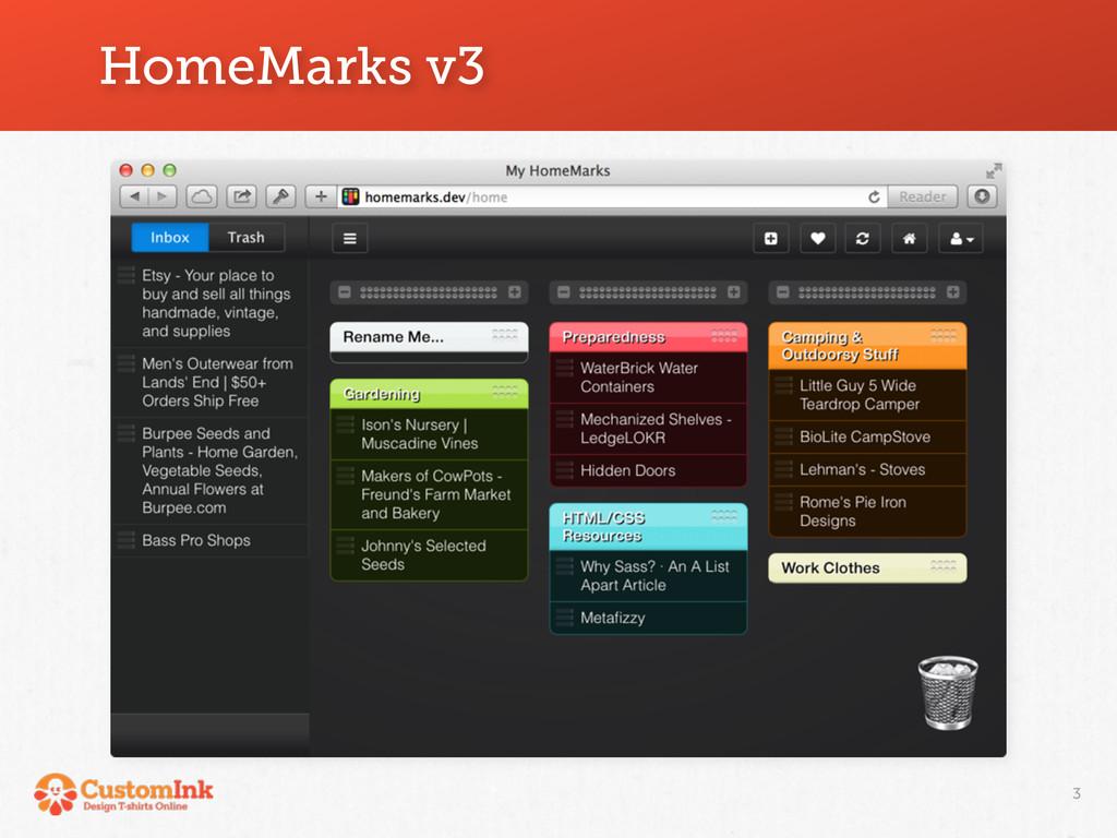 HomeMarks v3 3