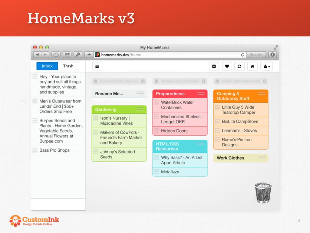 HomeMarks v3 4
