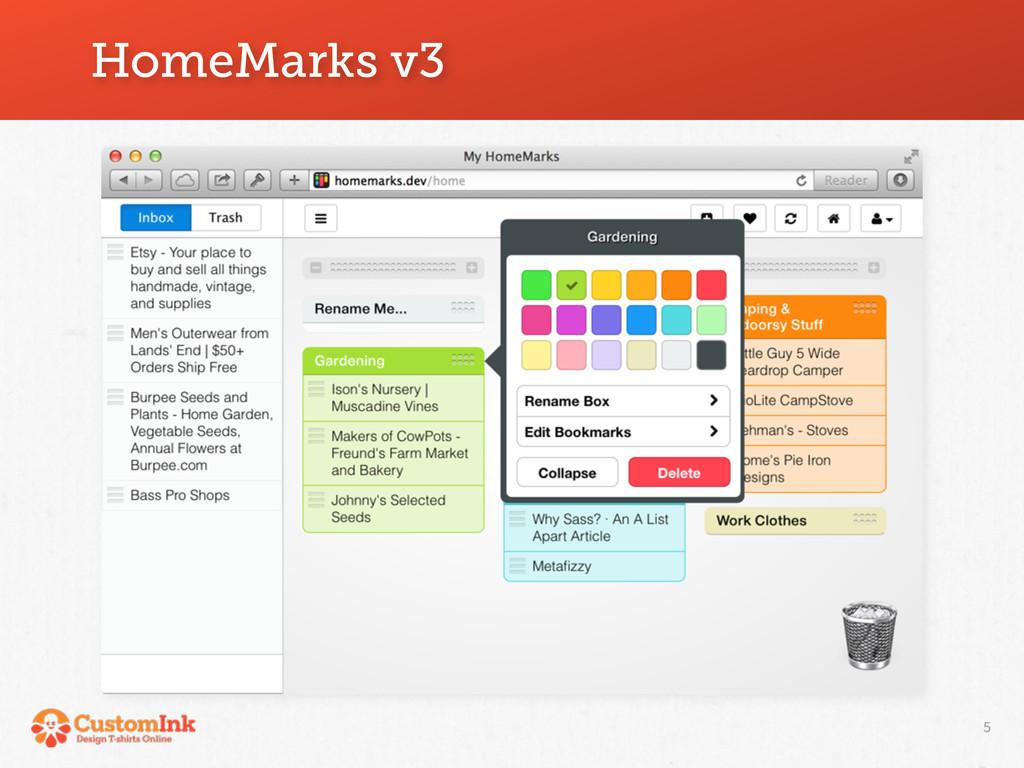 HomeMarks v3 5