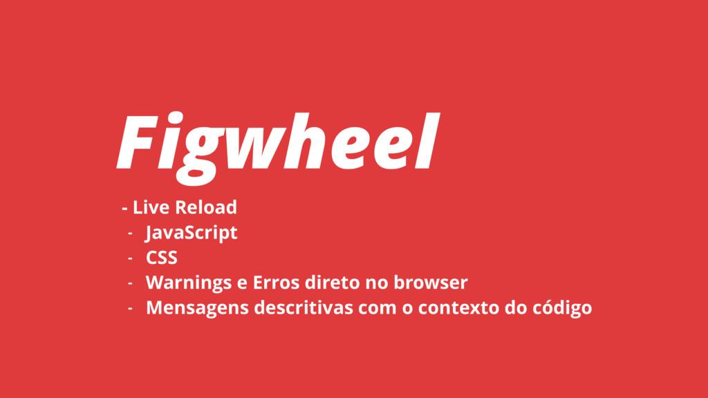 - Live Reload - JavaScript - CSS - Warnings e E...