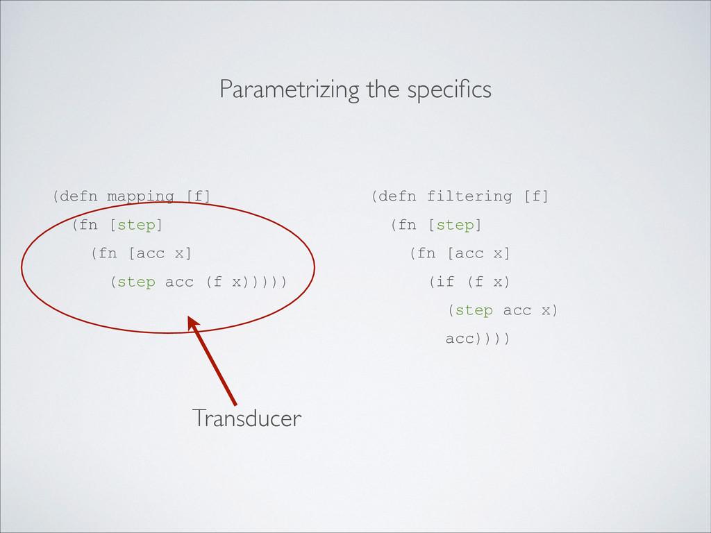 (defn mapping [f] (fn [step] (fn [acc x] (step ...