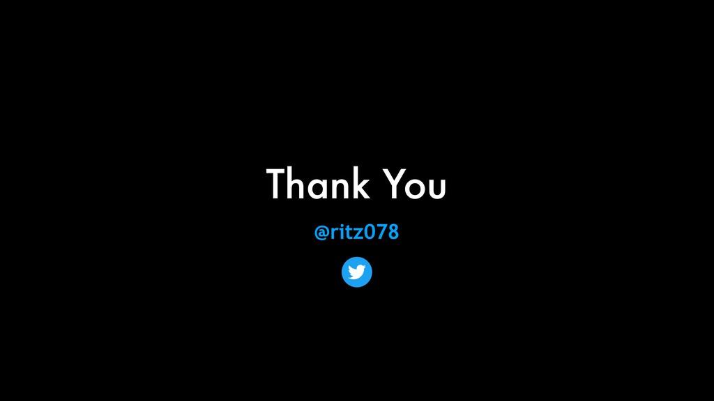 Thank You @ritz078