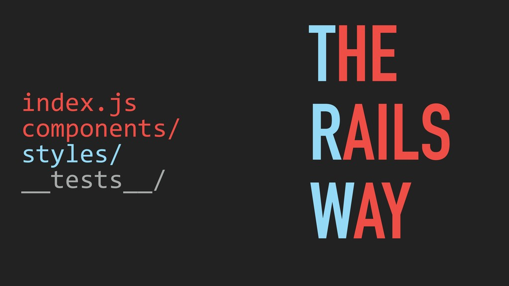 index.js components/ styles/ __tests__/ THE RAI...