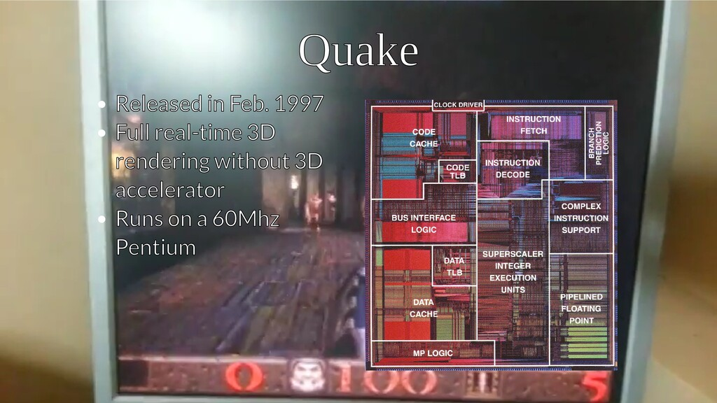 Quake Quake Released in Feb. 1997 Released in F...