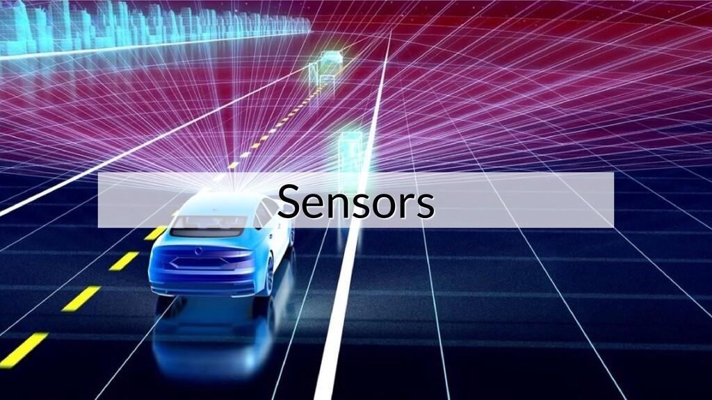Sensors Sensors