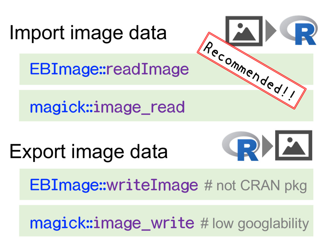 Import image data 