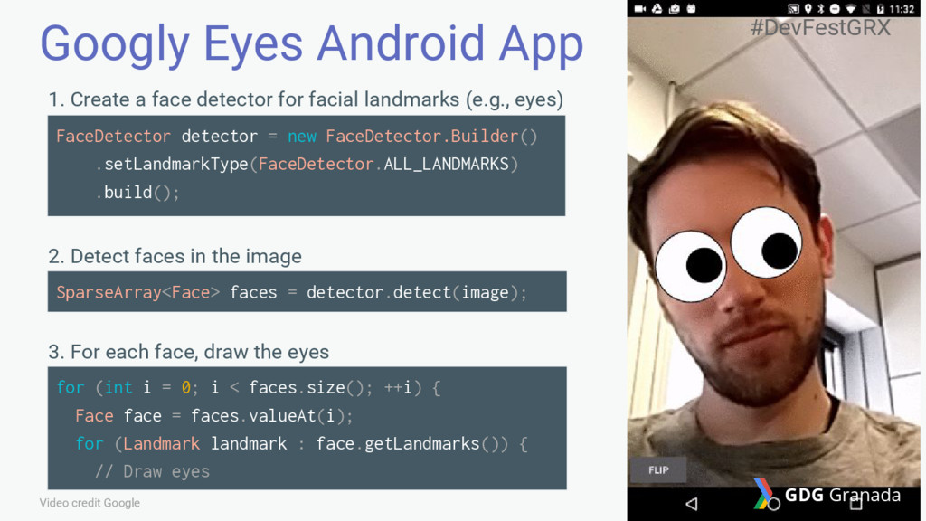 Googly Eyes Android App Video credit Google 1. ...