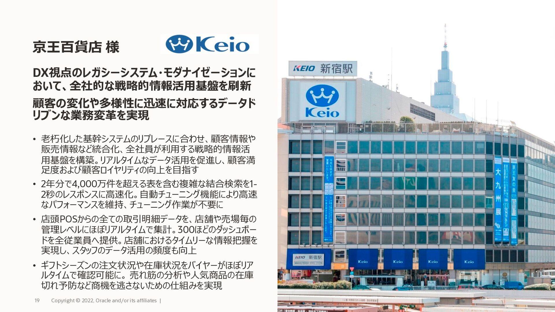 新時代のデータベース・サービス Oracle Autonomous Database AI/機...